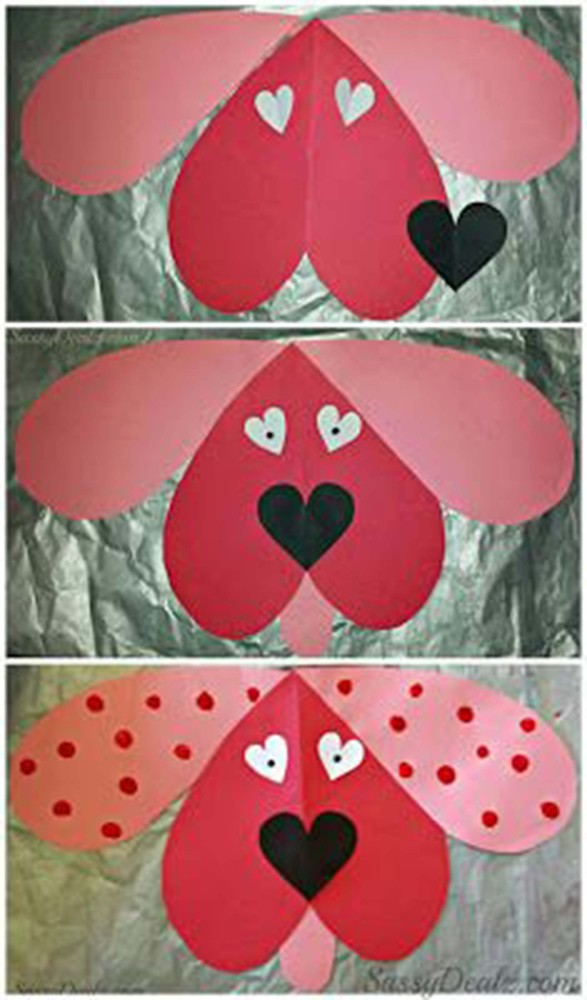 23 easy valentines day crafts that require no special skills whatsoever huffpost - Valentine Day Crafts For Kids