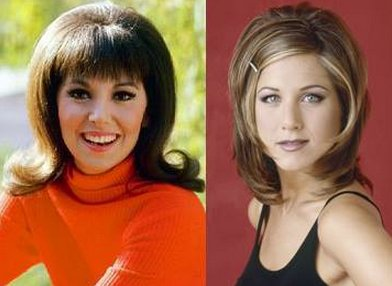 "Lets face it -- Jen has fabulous hair, and in FRIENDS (TV Show), she wore ""The Rachel"" with confidence and style, never think"