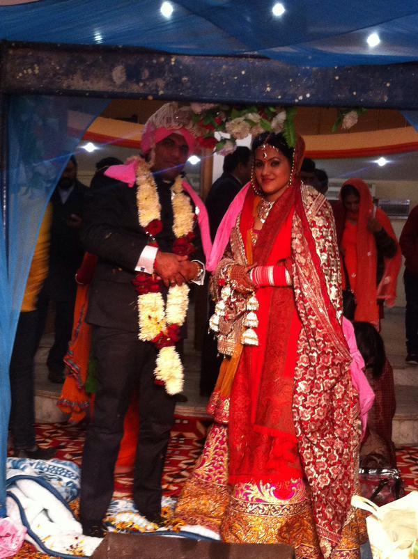 """Mohit Angural weds Reeti Thapa."" - Rahul Gupta"