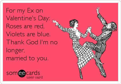 10 AntiValentines Day Cards That Are Perfect For Your Ex – Anti Valentine Day Cards