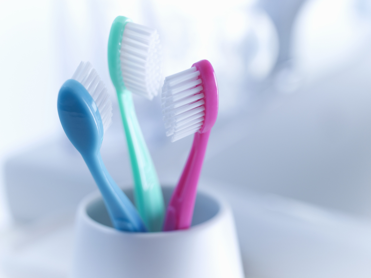 "The benign-seeming toothbrush holder is <a href=""http://www.nsf.org/newsroom/kitchen-is-germiest-place-in-home-according-to-r"