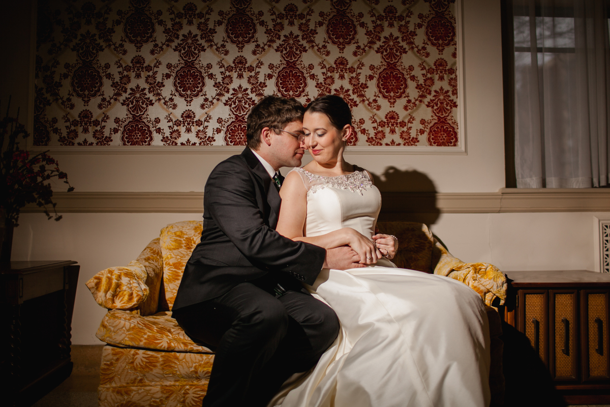 """""""Emmy and Mark were married in downtown Madison, Wisconsin this Saturday."""" - Laura Zastrow"""