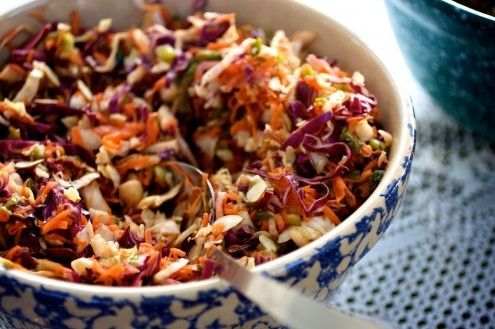 "<strong>Get the <a href=""http://naturallyella.com/2010/07/09/asian-inspired-coleslaw/"" target=""_blank"">Asian Inspired Colesla"