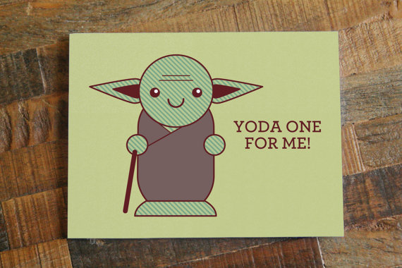 """Buy it <a href=""""https://www.etsy.com/listing/194188430/nerdy-pun-greeting-card-one-for-me-nerd?ref=sr_gallery_5&ga_search_que"""