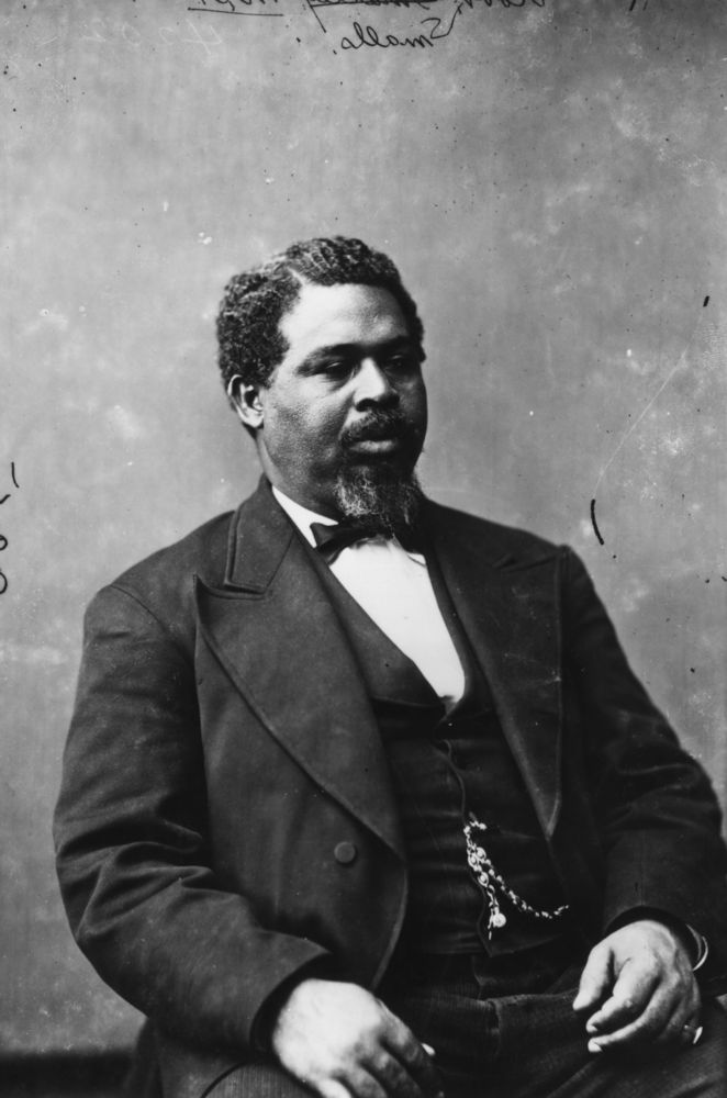 Robert Smalls, born into slavery in 1839, was elected to the South Carolina House of Representatives at the dawn of the Recon