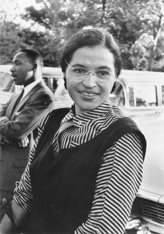 "Rosa Parks appeared on two hit television shows: once on the game show ""To Tell the Truth,"" and later on ""Touched by an Angel"