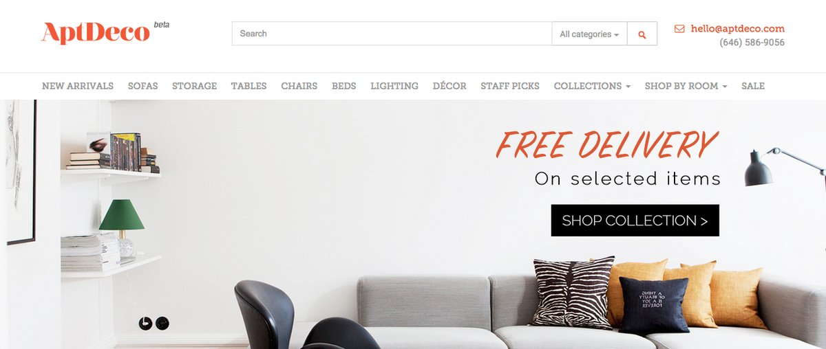 This site allows you to buy and sell furniture, much like you would on Craigslist. The difference? They handle the payment an