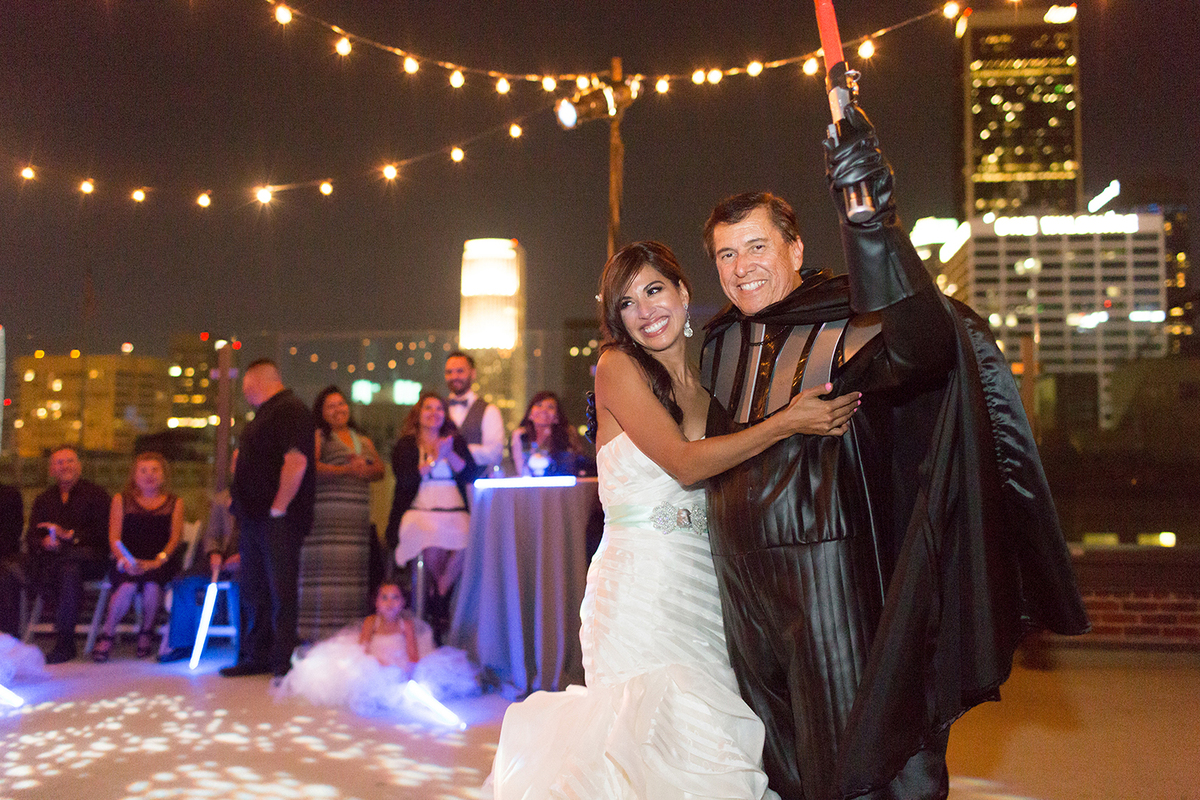 This \'Star Wars\' Wedding Is Equal Parts Geek And Chic | HuffPost