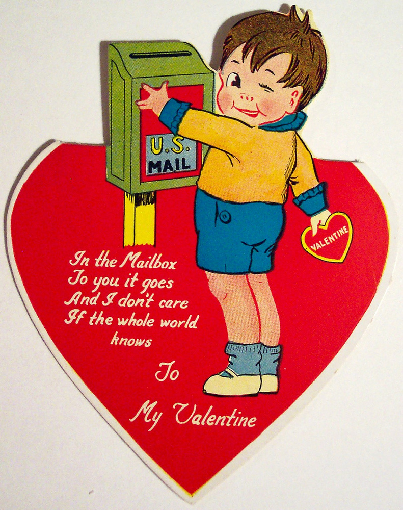 these vintage valentines show just what were missing when we give up real mail huffpost
