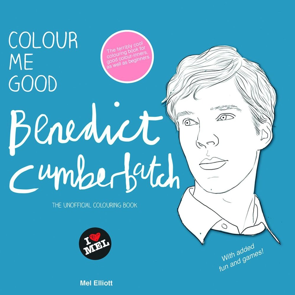 """Get it on <a href=""""http://www.amazon.ca/Colour-Me-Good-Benedict-Cumberbatch/dp/0992777755"""" target=""""_blank"""">Amazon</a>.   $12."""