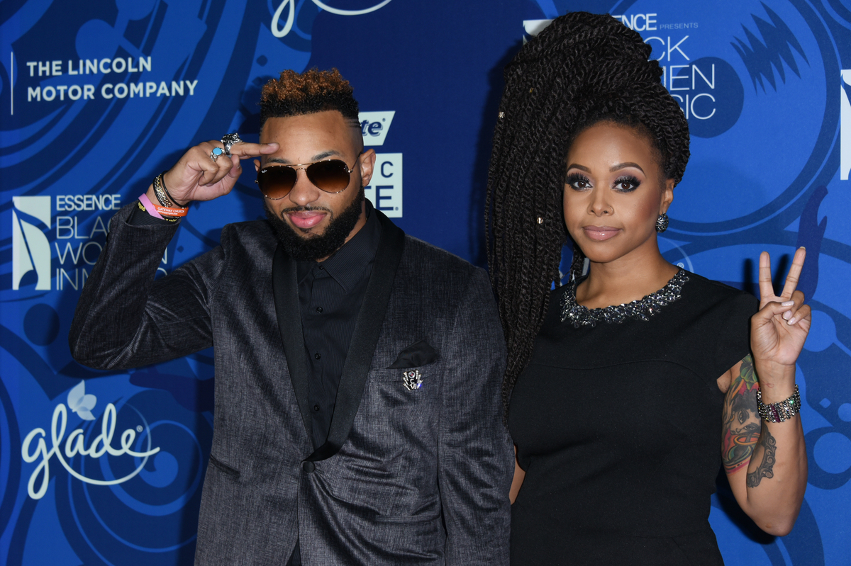 Chrisette Michele arrives at the 6th Annual ESSENCE Black Woman In Music held at Avalon on Thursday, Feb. 5, 2015, in Los Ang
