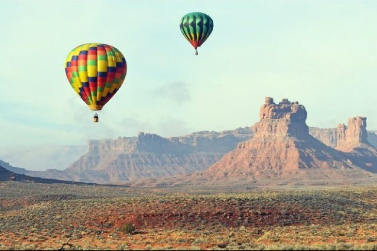 Love is in the thin high-altitude air. It's tough to find a date more romantic (and adventurous) than a hot air balloon ride—