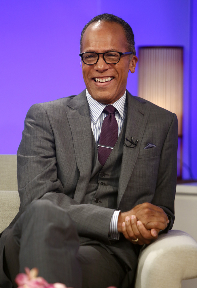 "Holt currently anchors the weekend editions of ""NBC Nightly News"" and often fills in for Williams when he is out, including a"