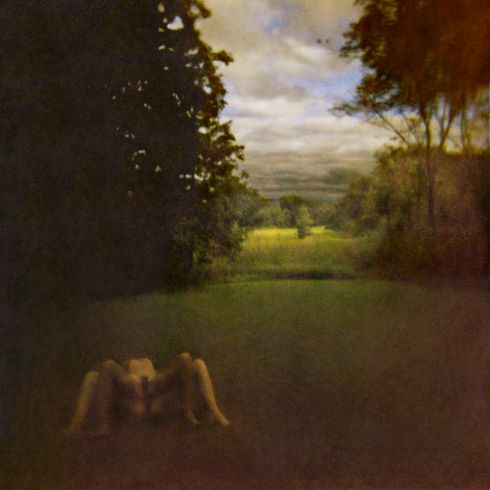 Bartos' crafts haunting realms that land somewhere between a pastoral landscape and a twisted nightmare. Her female models re