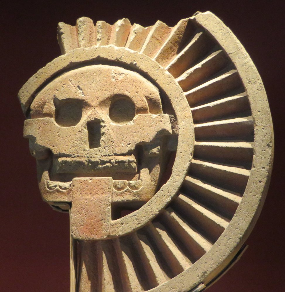 Aztecs big on skulls, as you'll see at the unparalleled National Museum of Archaeology