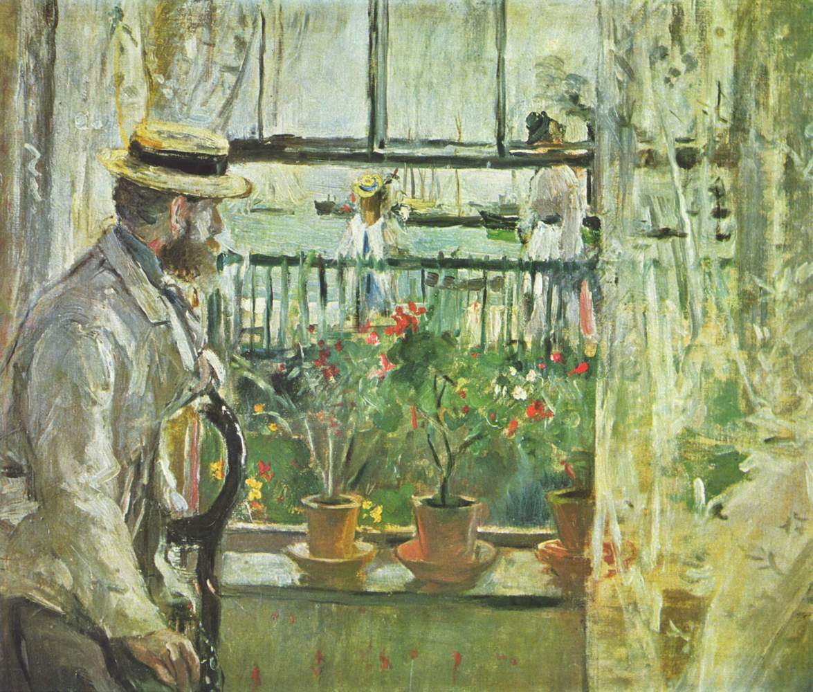 Berthe Morisot, an Impressionist painter, drew inspiration from no less famous a pair of brothers than Edouard and Eugene Man