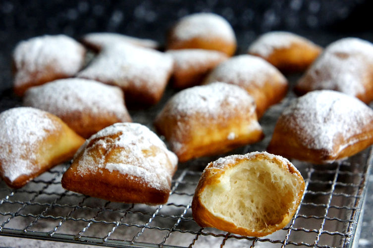 "<strong>Get the <a href=""http://food52.com/recipes/23216-puffy-pillow-beignets"" target=""_blank"">Puffy Pillow Beignets</a> fro"