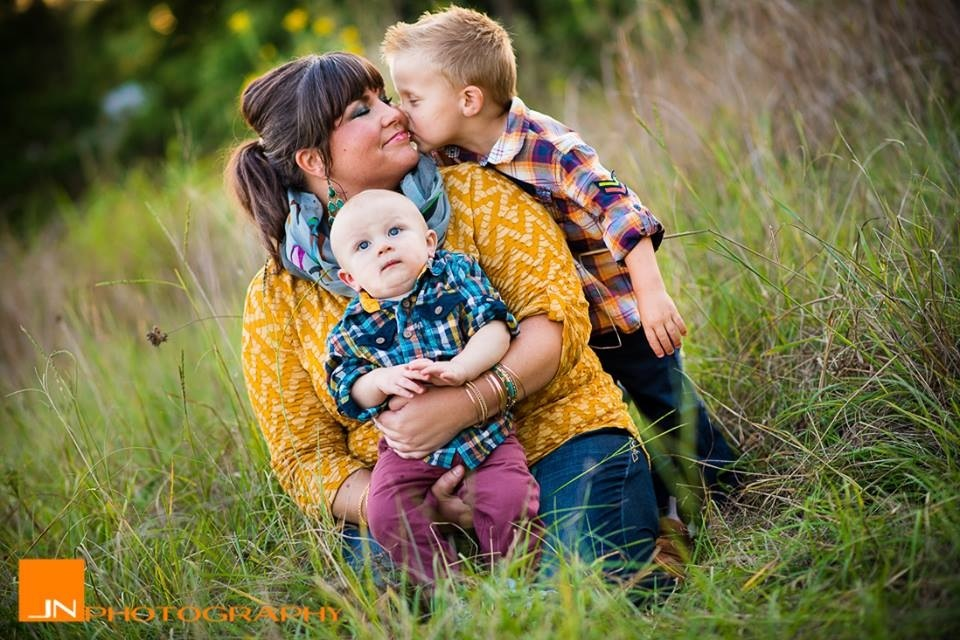 """I would go through the hell of my divorce a million over to have these two little boys in my life. They have taught me more"