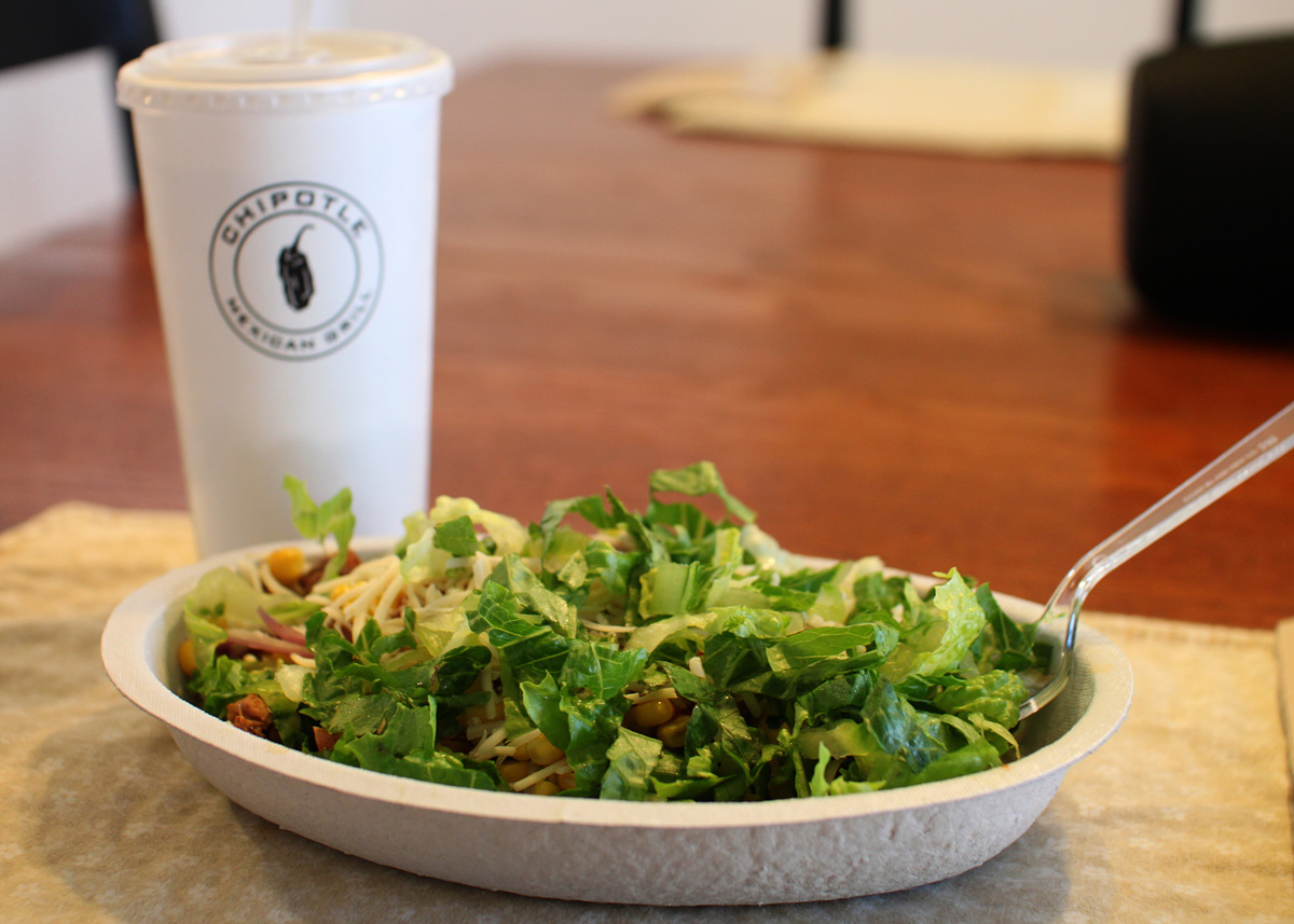 Users gave Chipotle a 4.41 rating out of five stars.