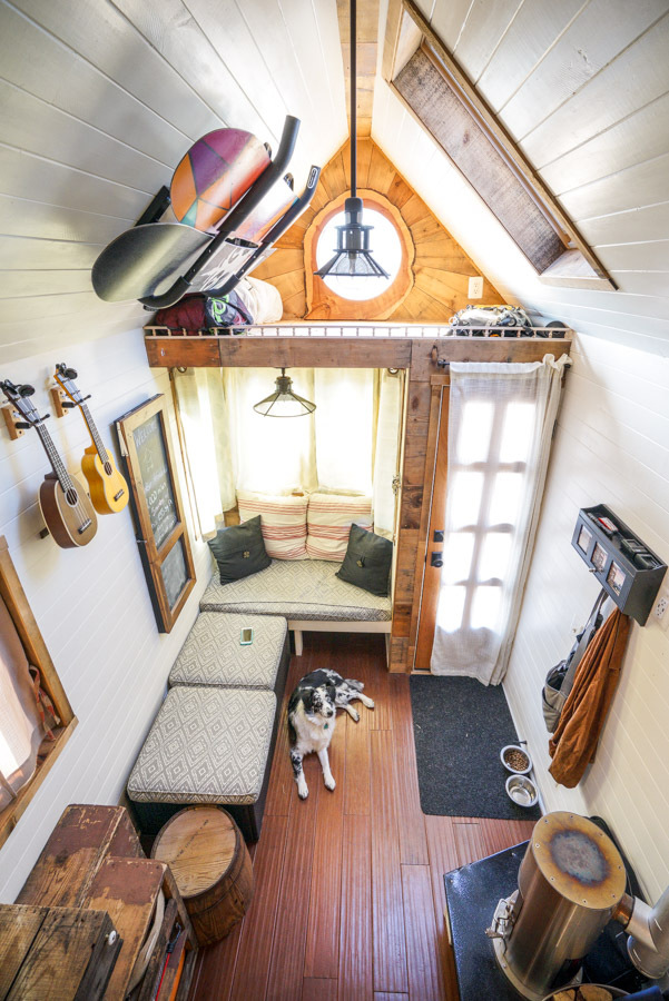 Couple Quits Day Jobs Builds Quaint Tiny Home On Wheels To Travel The Country