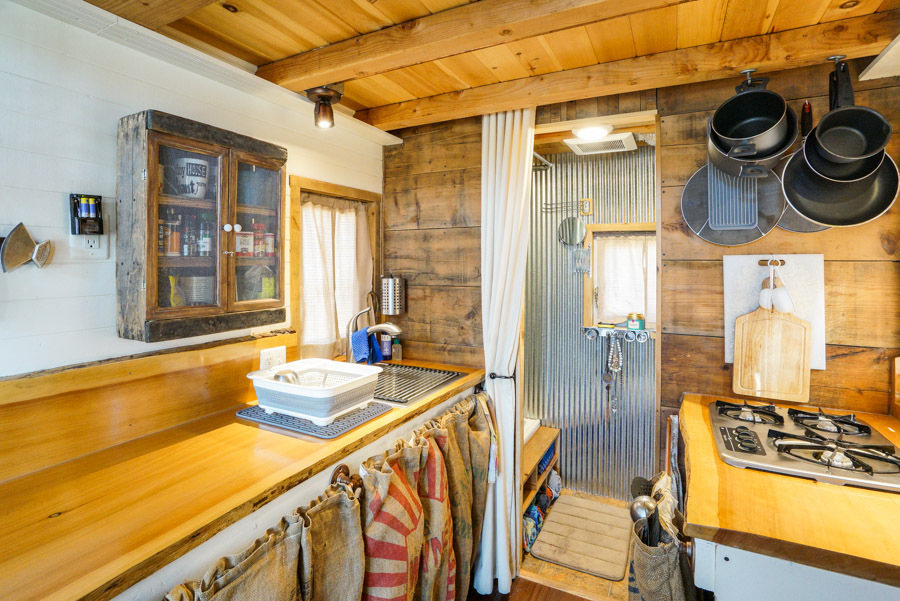 Couple quits day jobs builds quaint tiny home on wheels to travel the country huffpost