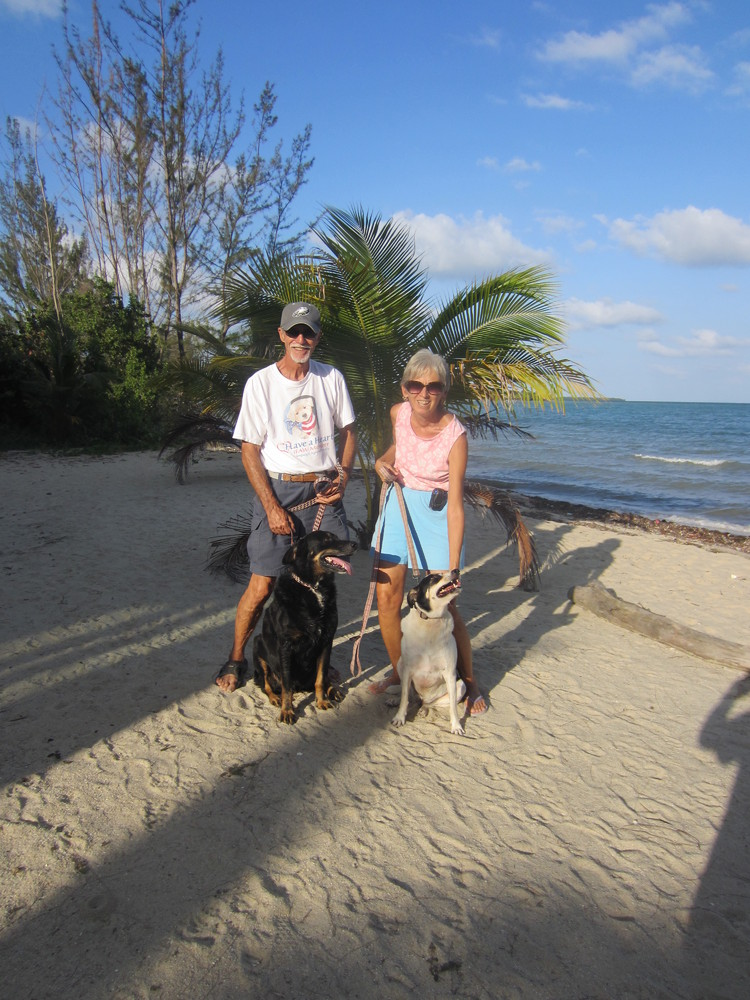 Lynn Ann Snellman and Tony DiPiazza moved from Michigan to Placencia, Belize in 2011. They say they enjoy the healthy, carefr
