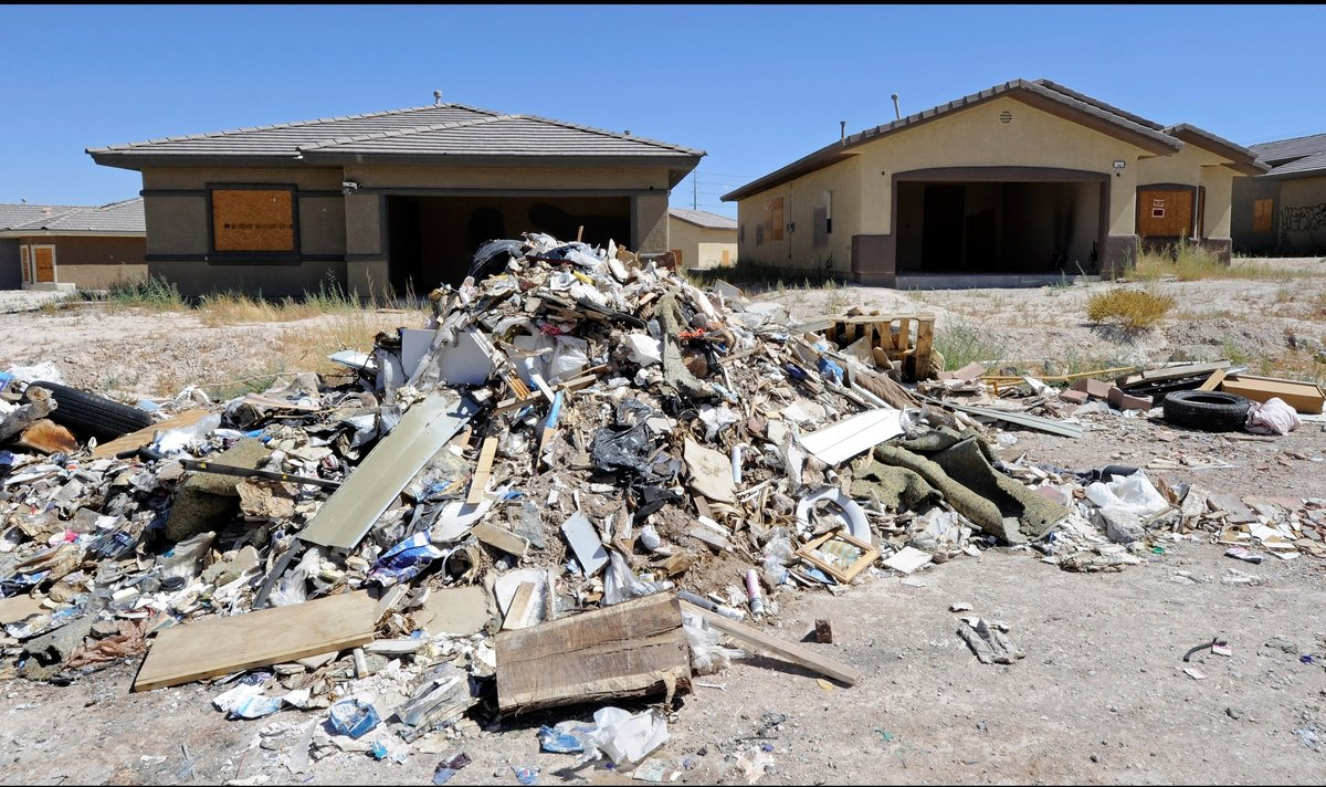 An abandoned development in North Las Vegas (Getty/Ethan Miller)
