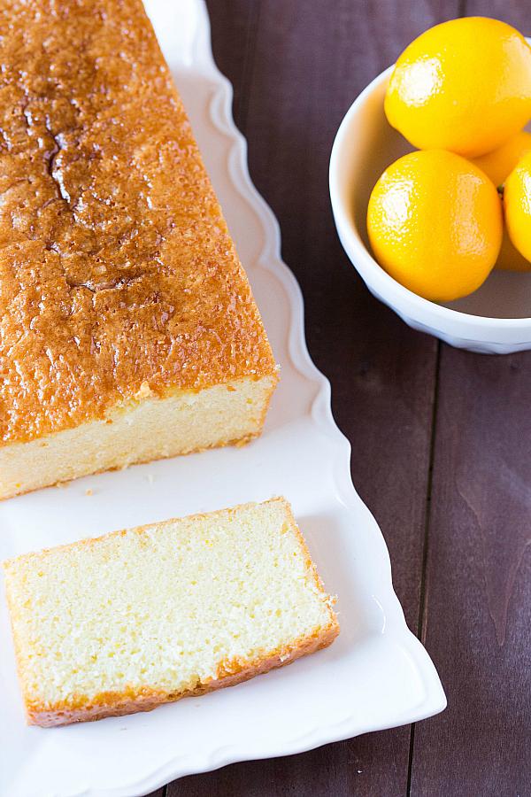 Lemon Loaf Cake Recipe Hummingbird
