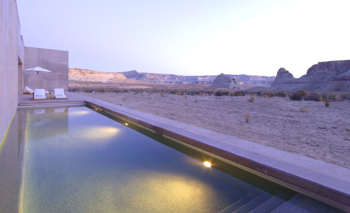 "<strong>See More of the <a href=""http://www.travelandleisure.com/slideshows/worlds-coolest-plunge-pools/9?xid=PS_huffpo"">Worl"
