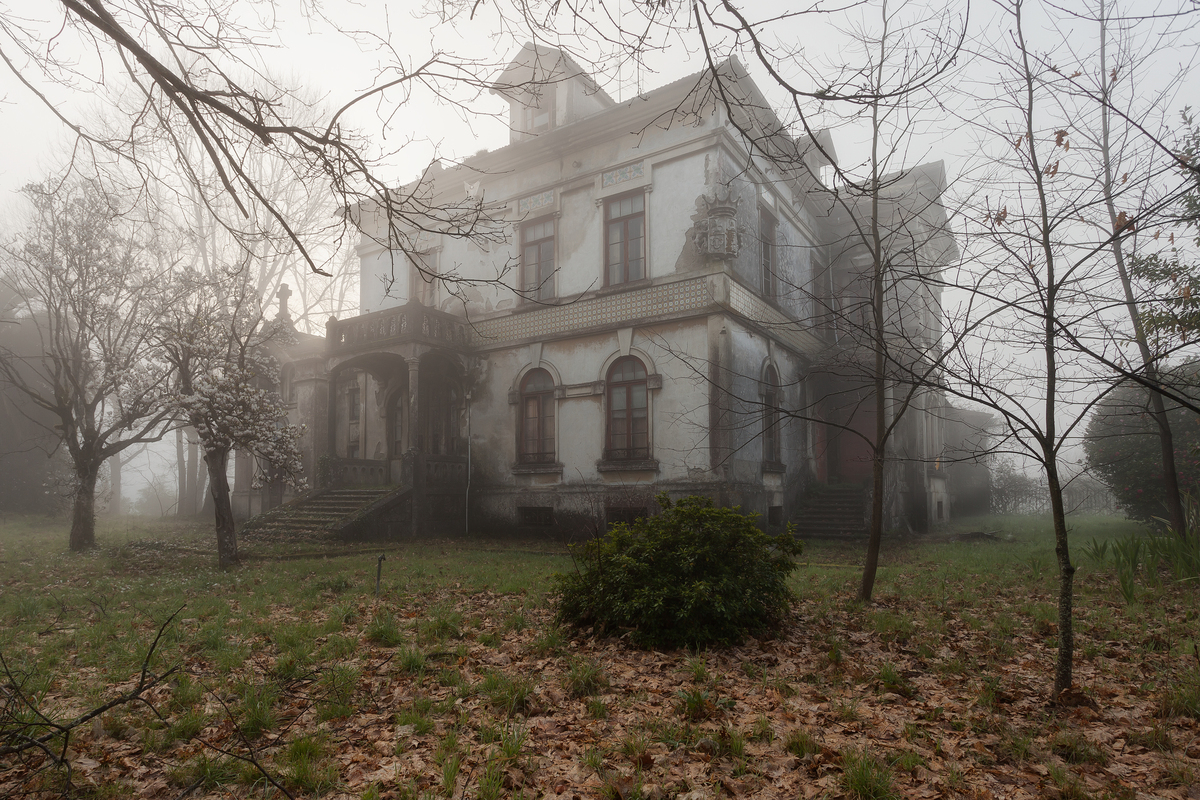 """""""I still feel angry when I think back of the moment I stepped into this beautiful old mansion,"""" Zegwaard writes of this home"""