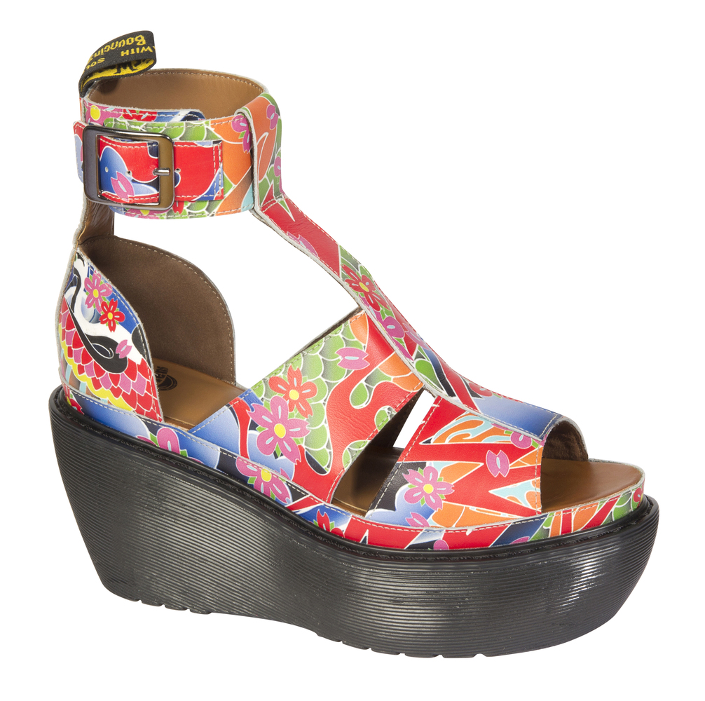 """Available at <a href=""""http://unionjackboots.com/"""" target=""""_blank"""">Dr. Martens</a>.   $220"""