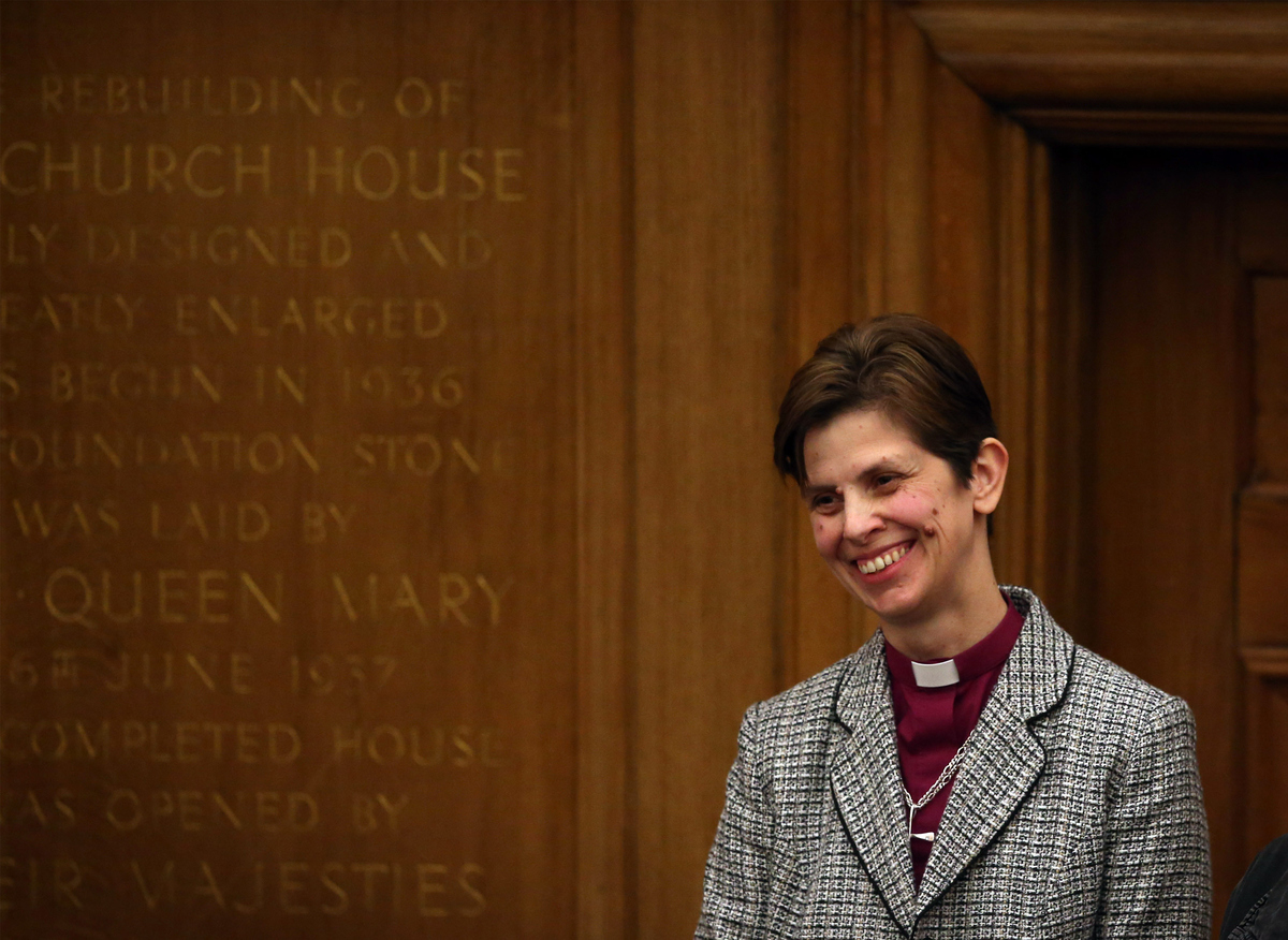 "Reverend Libby Lane <a href=""http://www.huffingtonpost.com/2015/01/26/church-of-england-bishop-libby-lane_n_6546990.html"" tar"