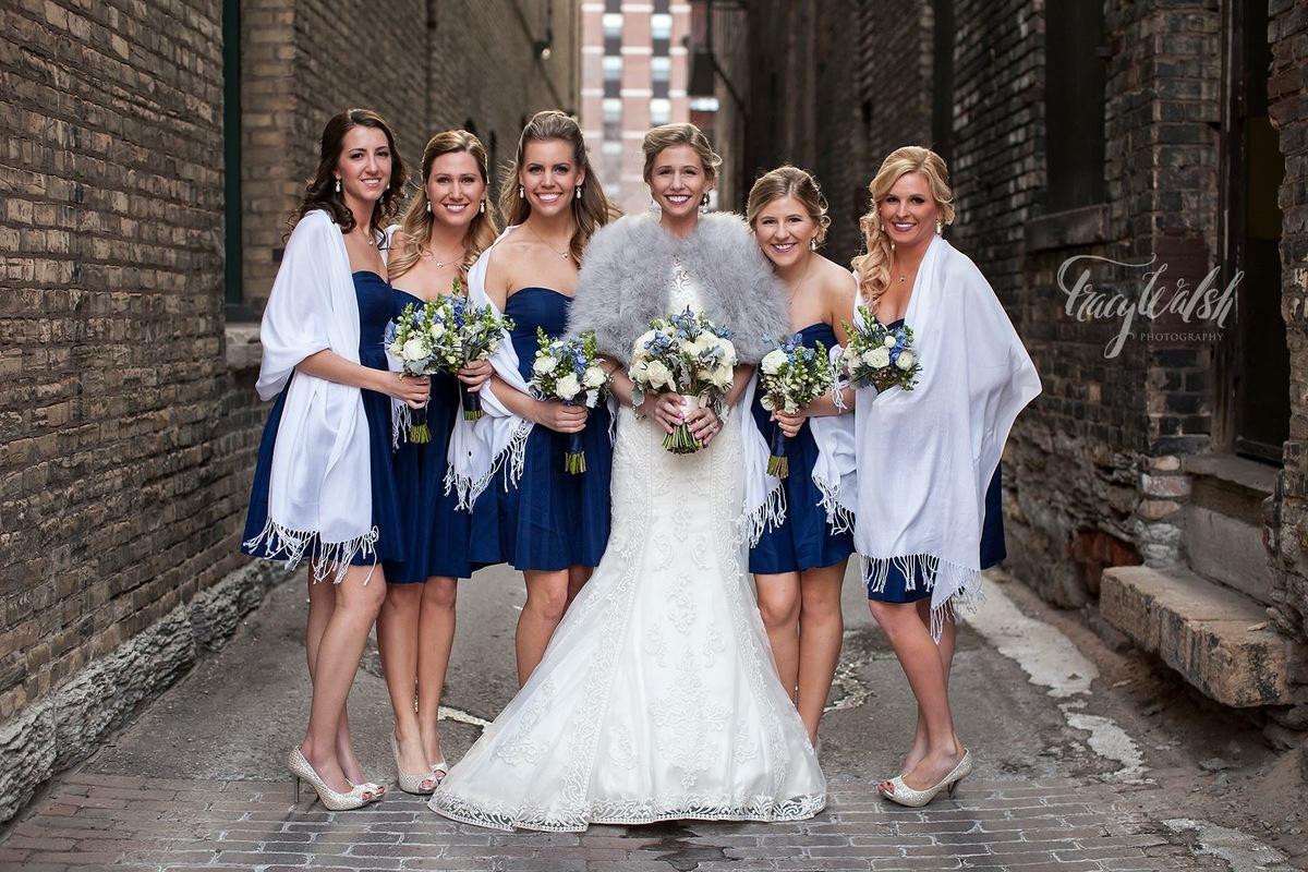 """A winter wedding in St. Paul, Minnesota."" - Tracy Walsh"