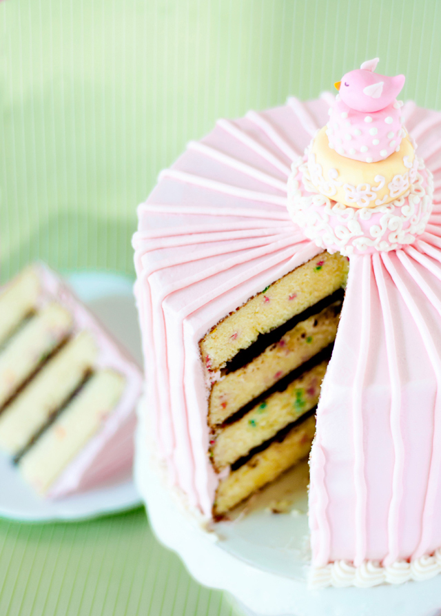 Vanilla butter layer cake recipe