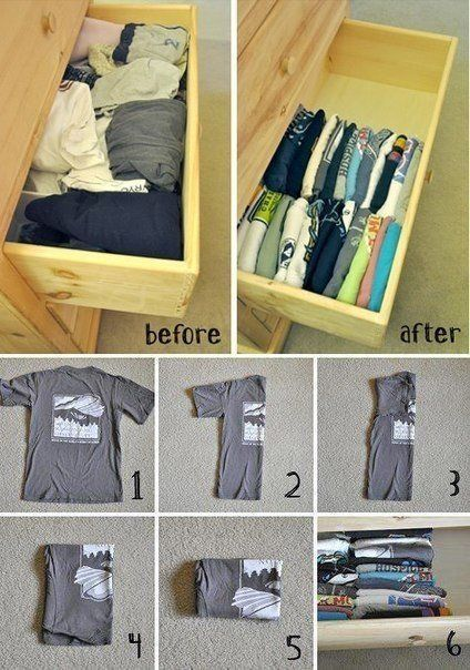 Superb Small Spaces Can Get Crammed Quickly, So Make Time To Carefully Fold  Clothes, For Example. It Will Help You Save Space In Your Drawers And  Reduce Wrinkles.