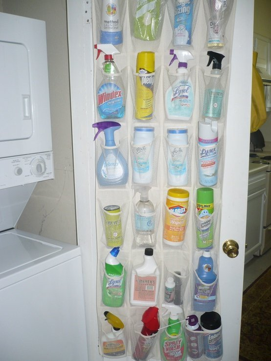Good Keep Clutter At Bay By Storing Supplies In Shoe Bags. Youu0027ll Be Able To See  Everything You Have And Youu0027ll Never Worry About Knocking Over A Bottle Of  ...