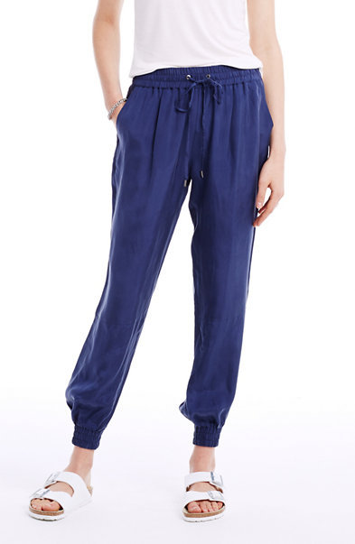 """<a href=""""http://www.armaniexchange.com/product/soft+jogger+pant.do"""" target=""""_blank"""">Soft Jogger Pant by Armani Exchange,</a>"""
