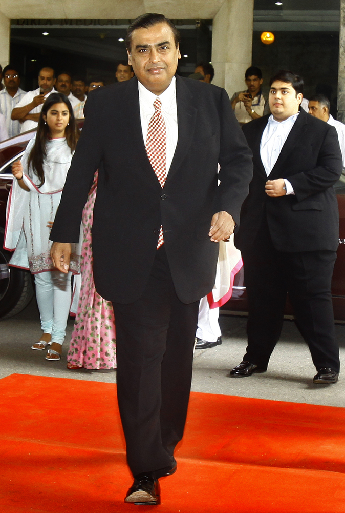 Mukesh Ambani is the richest Indian in the world with a net worth of $19.6 billion. He owns 41 per cent stake in Reliance Ind