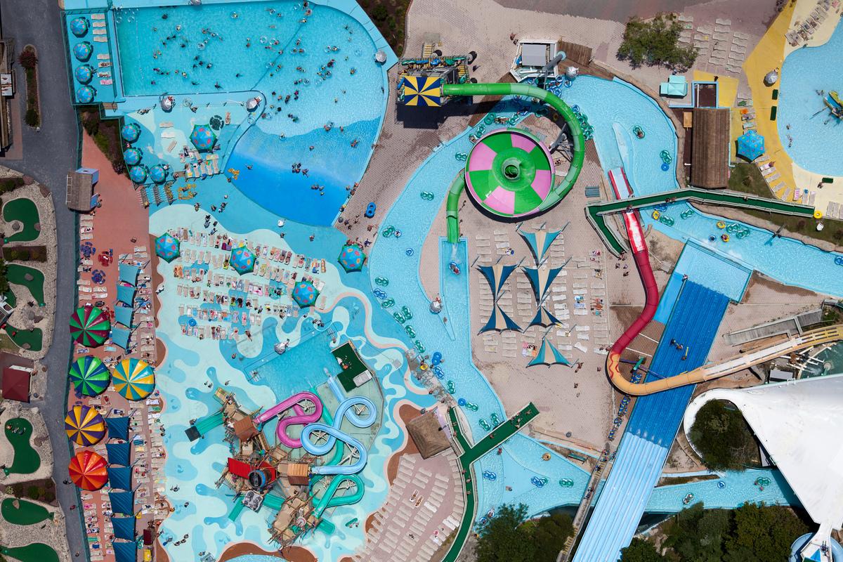 Ocean City Amusement Park in Ocean City, Maryland, taken in 2011.