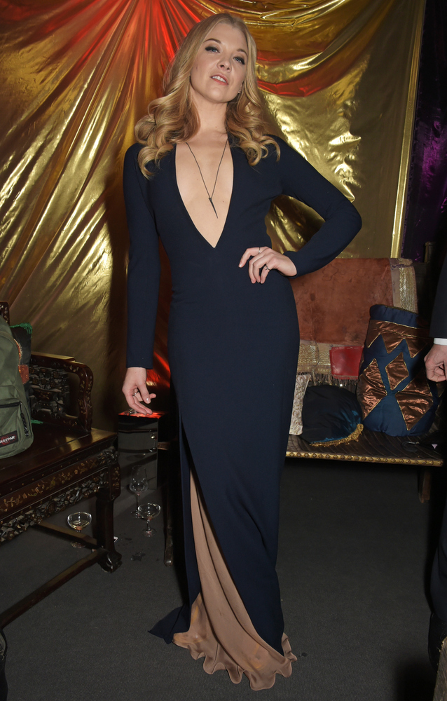 LONDON, ENGLAND - MARCH 18:  Natalie Dormer attends the 'Game Of Thrones: Season 5' UK Premiere After Party at the Tower of L