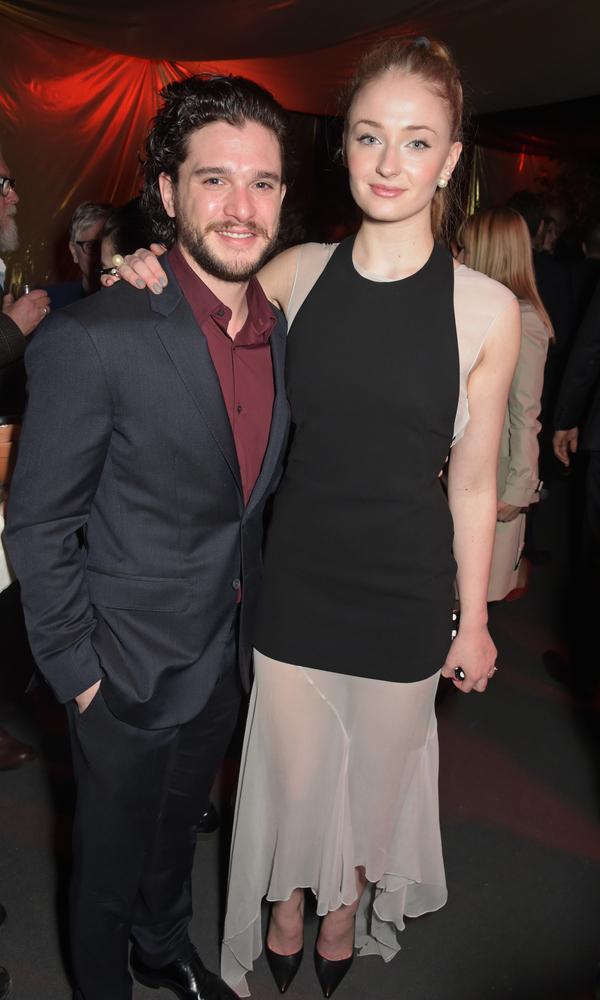 Kit Harington and Sophie Turner.