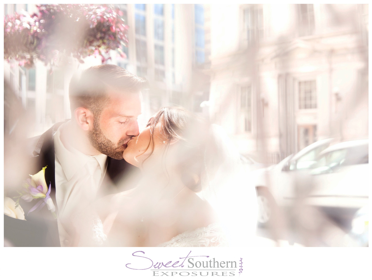"""""""Emily and Joe were married Saturday in Raleigh, North Carolina! This image is a reflection in a mirror we stumbled across on"""