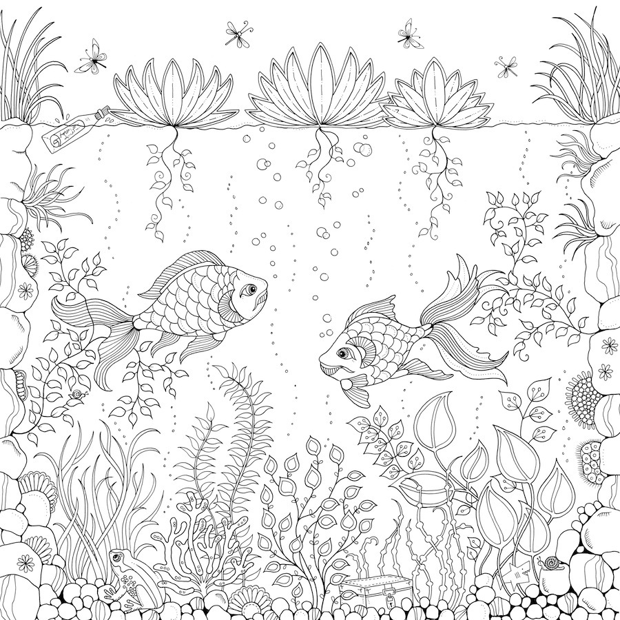Coloring Books From Secret Garden