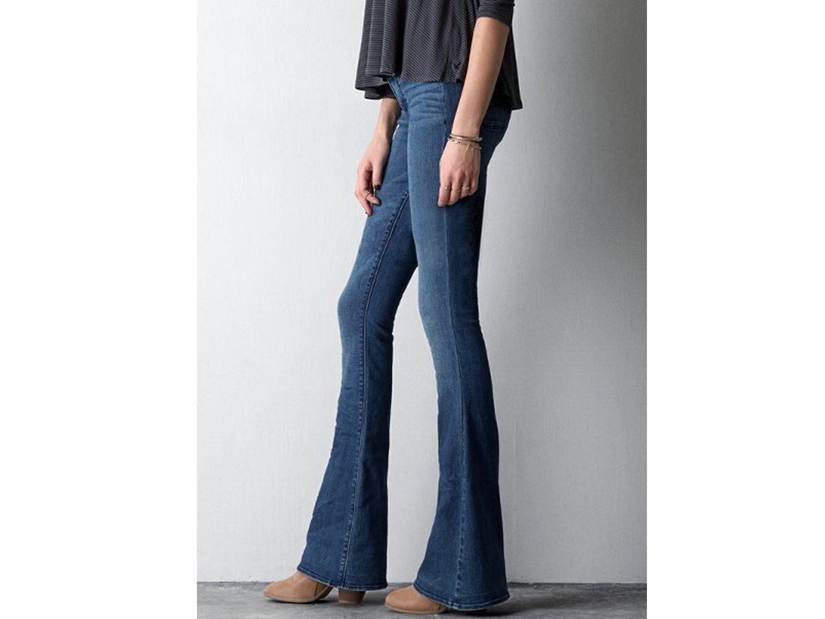 High waisted flare jeans american eagle