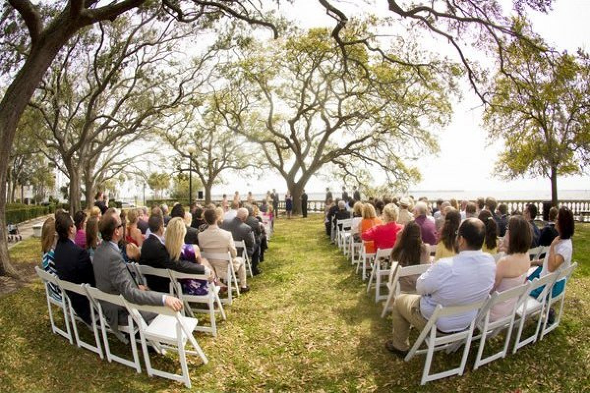 100 Beautiful Outdoor Spaces For The Wedding Ceremony Of ...