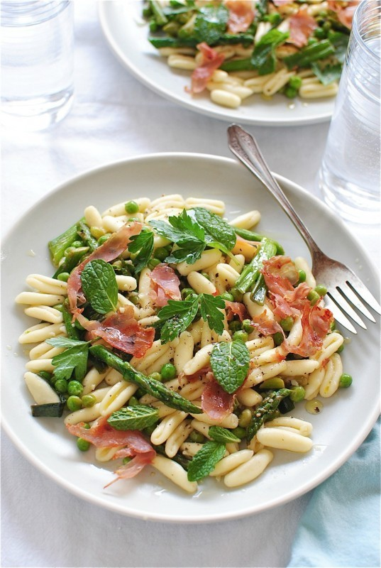 "<strong>Get the <a href=""http://bevcooks.com/2013/05/cavatelli-pasta-with-spring-vegetables/"" target=""_blank"">Cavatelli Pasta"