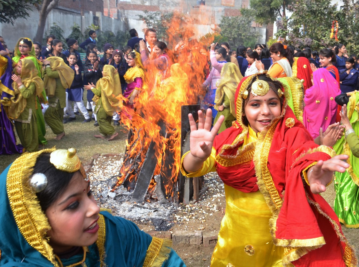 This popular Punjabi festival is celebrated around the winter solstice to mark the longest night of the year. It is also a sp