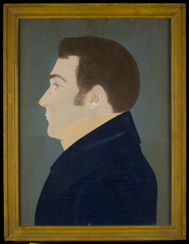 Mr. Kendall, about 1831 attributed to Ruth Henshaw Bascom Image: Courtesy of the Worcester Art Museum