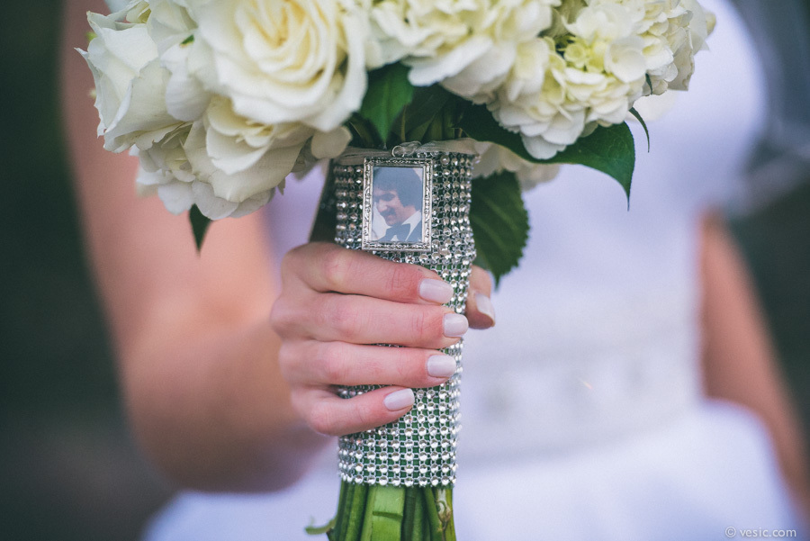 Honoring departed loved ones wedding rings