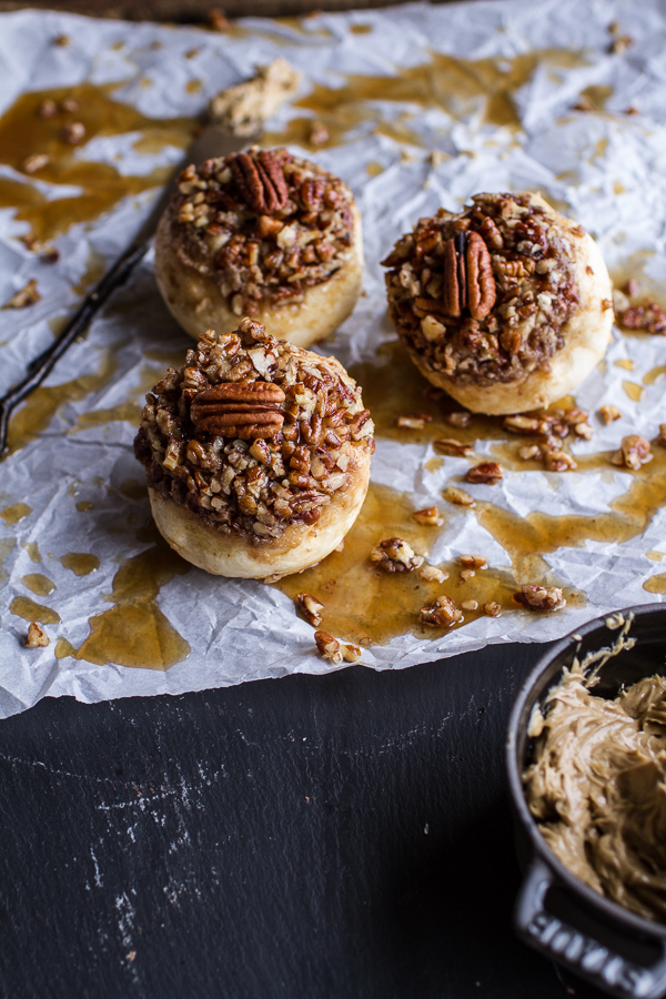 """<strong>Get the <a href=""""http://www.halfbakedharvest.com/wholemeal-maple-pecan-buns/"""" target=""""_blank"""">Wholemeal Maple Pecan B"""